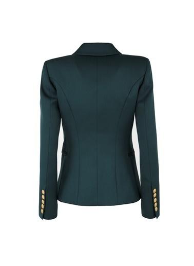 Balmain Ceket Yeşil